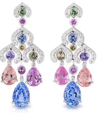 Délices D'Été Lumière Chandelier Earrings by FABERGE for Preorder on Moda Operandi