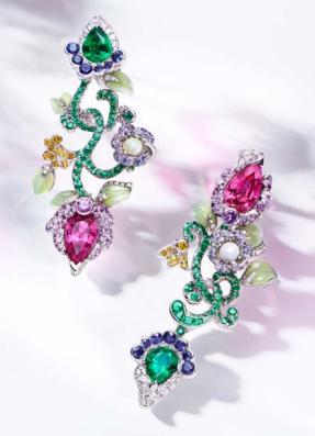 Secret Garden Earrings by FABERGE for Preorder on Moda Operandi