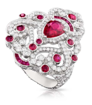 Regalia Ruby Ring by FABERGE for Preorder on Moda Operandi