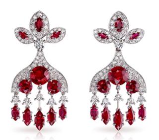 Kokoshnik Earrings by FABERGE for Preorder on Moda Operandi