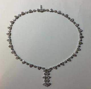 Giselle White Diamond Necklace by FABERGE for Preorder on Moda Operandi