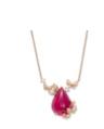 Rubellite Necklace by VANLELES  for Preorder on Moda Operandi