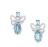 Lyla's Bow Earrings by VANLELES  for Preorder on Moda Operandi