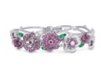Ruby And Pink Sapphire Bracelet by VANLELES  for Preorder on Moda Operandi
