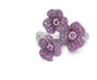 Pink Sapphire And Ruby Ring by VANLELES  for Preorder on Moda Operandi