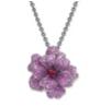 Flower Pendant Brooch Necklace by VANLELES  for Preorder on Moda Operandi