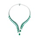 Emerald Necklace by VANLELES  for Preorder on Moda Operandi