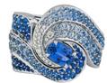 Blue Ring by VANLELES  for Preorder on Moda Operandi