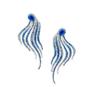 Blue Earrings by VANLELES  for Preorder on Moda Operandi
