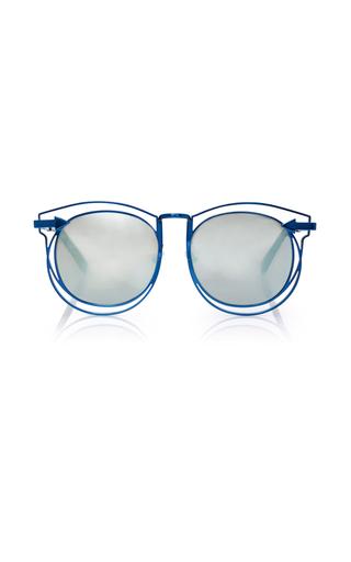 Medium karen walker navy simone sunglasses