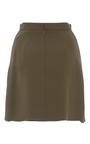 Heavy Georgette Layered Mini Skirt by BRANDON MAXWELL for Preorder on Moda Operandi