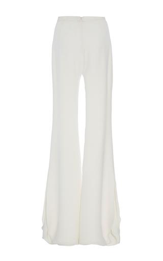 Heavy Georgette Petal Layered Trousers by BRANDON MAXWELL for Preorder on Moda Operandi