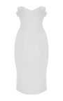 Heavy Georgette Strapless Mini Dress by BRANDON MAXWELL for Preorder on Moda Operandi