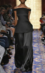 Pebbled Jacquard Piped Shoulder Tunic by BRANDON MAXWELL for Preorder on Moda Operandi