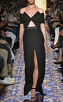 Heavy Georgette Center Slit Long Skirt by BRANDON MAXWELL for Preorder on Moda Operandi