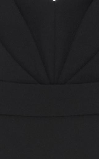 Heavy Georgette V Neck Gown by BRANDON MAXWELL for Preorder on Moda Operandi