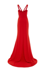 Strappy Fitted Gown by ELIZABETH KENNEDY for Preorder on Moda Operandi