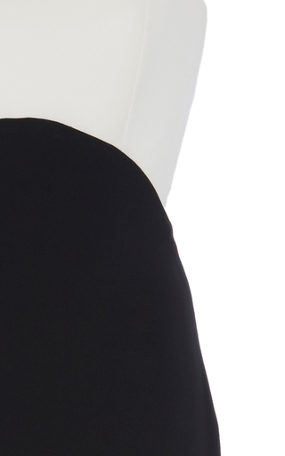 Color Blocked Empire Waist Gown With Tie Up Back by ELIZABETH KENNEDY for Preorder on Moda Operandi