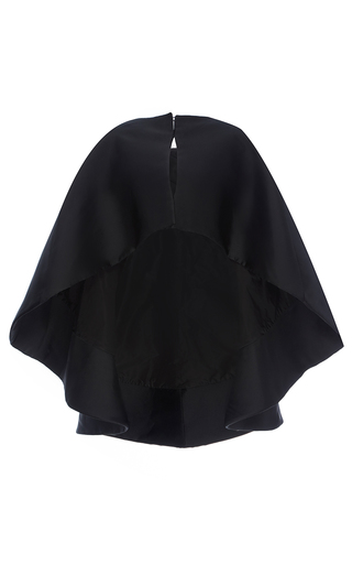 Medium elizabeth kennedy black evening cape