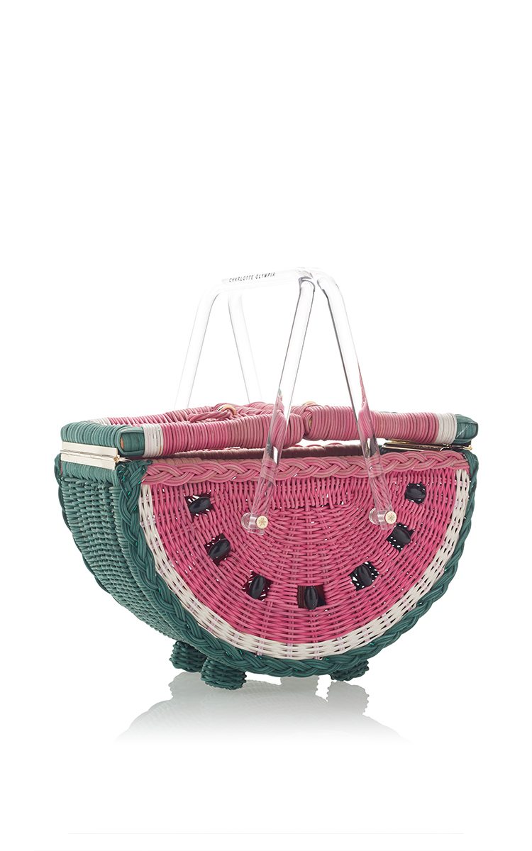 Watermelon Basket Bag by Charlotte Olympia   Moda Operandi b35020708a