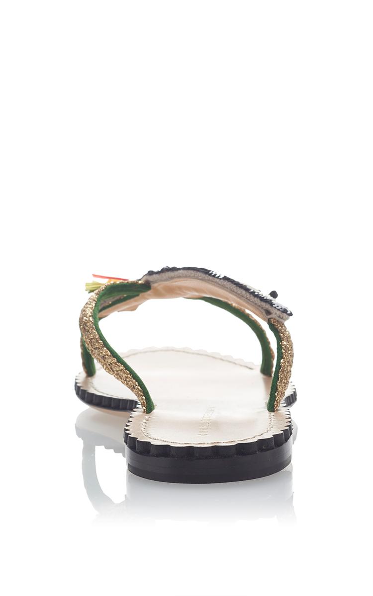 CHARLOTTE OLYMPIA Toucano Flat Sandal