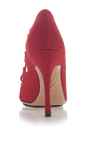 Verdant Bacall Pump by CHARLOTTE OLYMPIA for Preorder on Moda Operandi