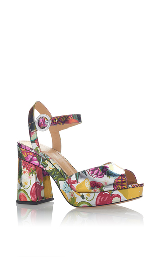 Medium charlotte olympia print into the wild platform sandal
