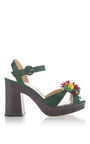 Tropical Into The Wild Sandal by CHARLOTTE OLYMPIA for Preorder on Moda Operandi
