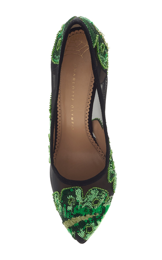 Amazonian Bacall Pump by CHARLOTTE OLYMPIA for Preorder on Moda Operandi