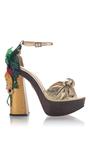 Brazilian Bombshell Platform Sandal by CHARLOTTE OLYMPIA for Preorder on Moda Operandi