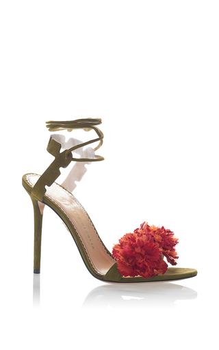 Medium charlotte olympia olive exotic salsa sandal