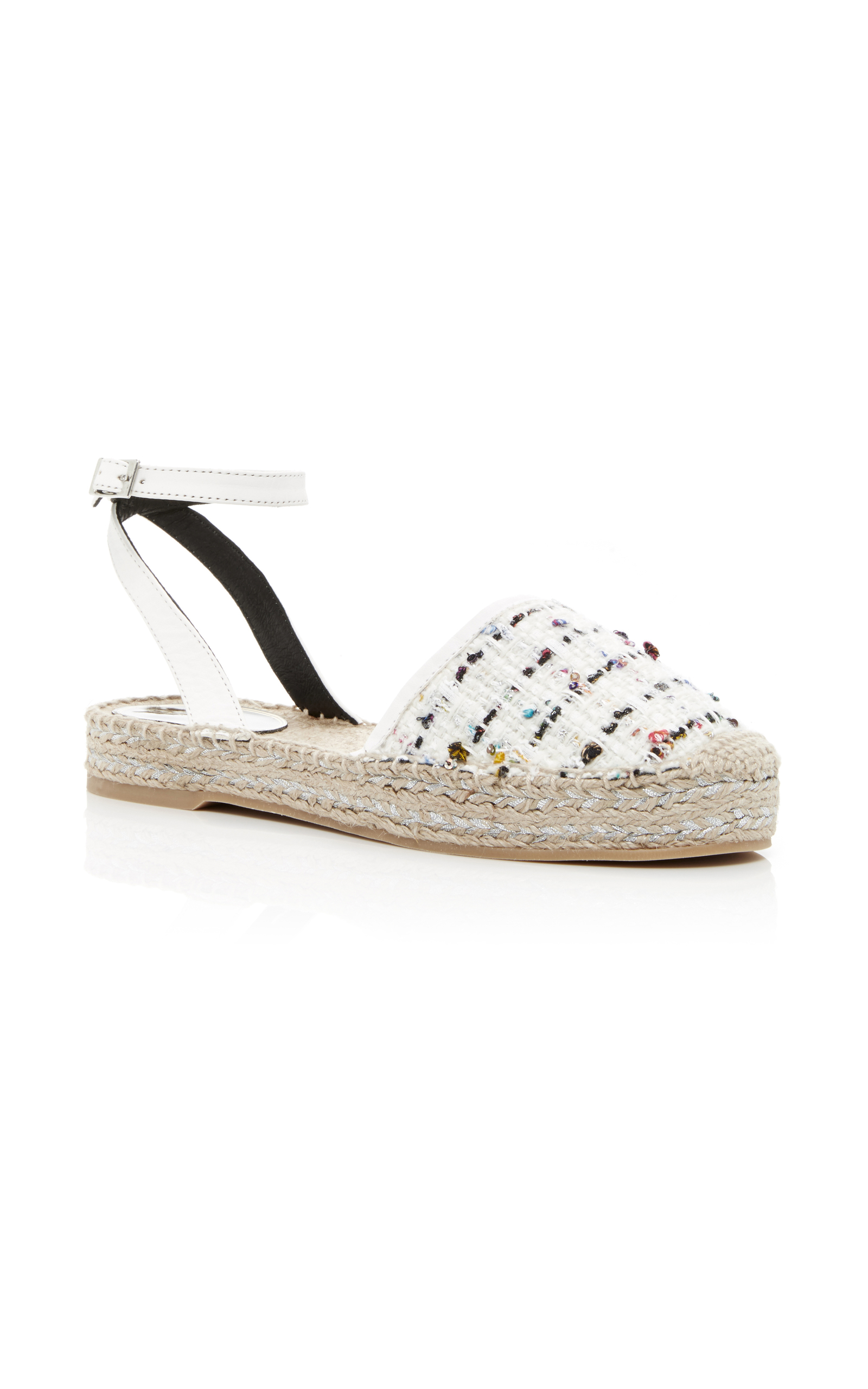 Oscar de la Renta Tweed Espadrille Wedges from china free shipping low price Lyt3uuoSQ