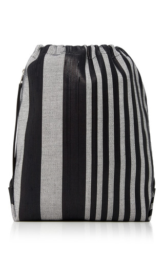 Medium proenza schouler multi striped woven backpack