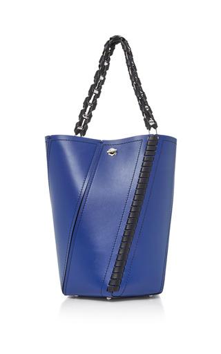 Medium proenza schouler blue hex medium paneled leather tote