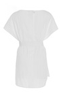 Tie Front Boat Neck Shirt by PROTAGONIST for Preorder on Moda Operandi
