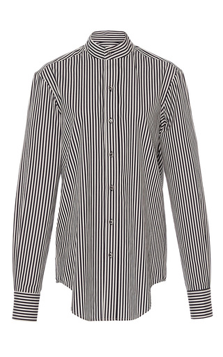 Mock Neck Easy Boy Shirt by PROTAGONIST for Preorder on Moda Operandi