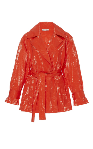 Wrap Front Rain Coat by PROTAGONIST for Preorder on Moda Operandi
