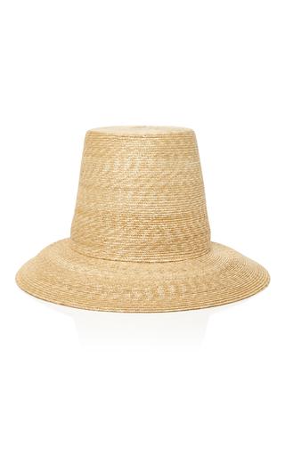 Medium samuji tan topper straw hat