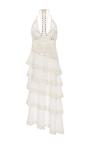 Mirror Cotton Tier Midi Dress by JONATHAN SIMKHAI for Preorder on Moda Operandi