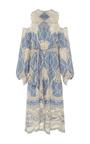 Crochet Cold Shoulder Robe by JONATHAN SIMKHAI for Preorder on Moda Operandi