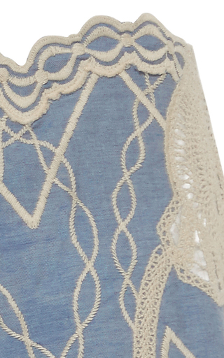 Crochet Embroidered Short by JONATHAN SIMKHAI for Preorder on Moda Operandi