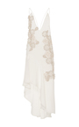 Metallic Threaded Pearl Gown by JONATHAN SIMKHAI for Preorder on Moda Operandi