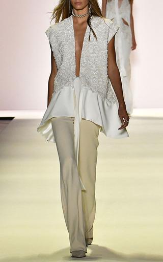 Classic Crepe Girlfriend Pant by JONATHAN SIMKHAI for Preorder on Moda Operandi
