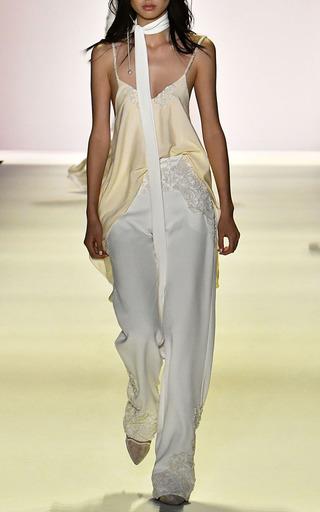 Embellished Sphere Pant by JONATHAN SIMKHAI for Preorder on Moda Operandi