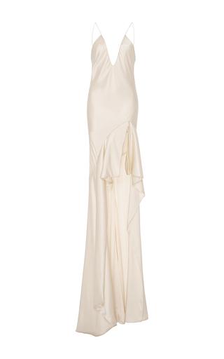 Silk Asymmetric Gown By Jonathan Simkhai Moda Operandi