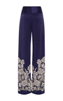 Silk Cutout Embroidered Pant by JONATHAN SIMKHAI for Preorder on Moda Operandi