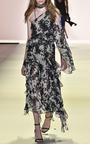 Silk Tie Dye One Sleeve Top by JONATHAN SIMKHAI for Preorder on Moda Operandi