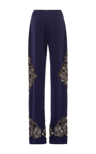 Pearl Beaded Pant by JONATHAN SIMKHAI for Preorder on Moda Operandi