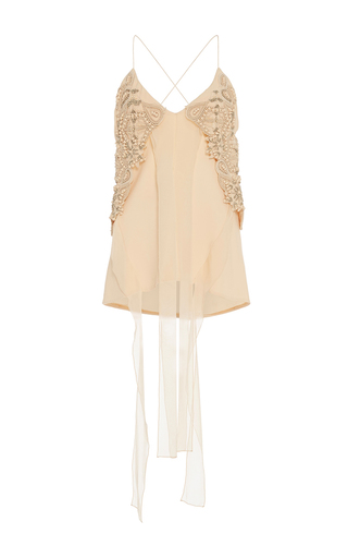 Embellished Sphere Tank by JONATHAN SIMKHAI for Preorder on Moda Operandi