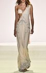 Pearl Beaded Bustier Gown by JONATHAN SIMKHAI for Preorder on Moda Operandi